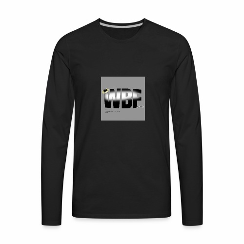 walking by faith and scripture - Men's Premium Long Sleeve T-Shirt