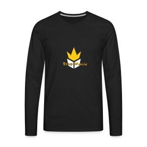 Sweater Black Trap Music TV - Men's Premium Long Sleeve T-Shirt