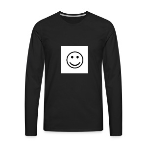 Happy - Men's Premium Long Sleeve T-Shirt