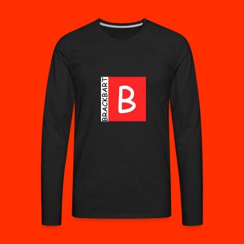 Brackbart Official Logo - Men's Premium Long Sleeve T-Shirt