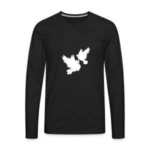 Pigeons and doves - Men's Premium Long Sleeve T-Shirt