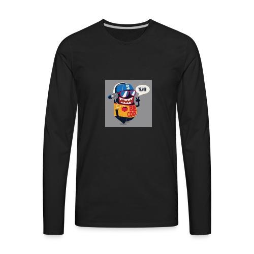 2017 tropicalgamer Cool pic - Men's Premium Long Sleeve T-Shirt