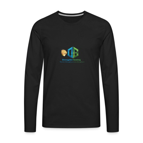 Deccypher Gaming - Men's Premium Long Sleeve T-Shirt