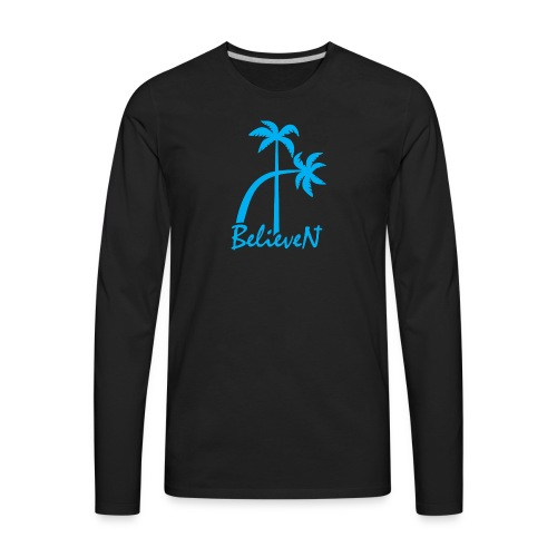 BelieveN blue - Men's Premium Long Sleeve T-Shirt
