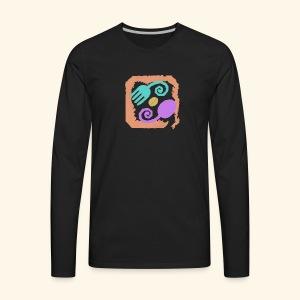 Earthy Pastel - Men's Premium Long Sleeve T-Shirt