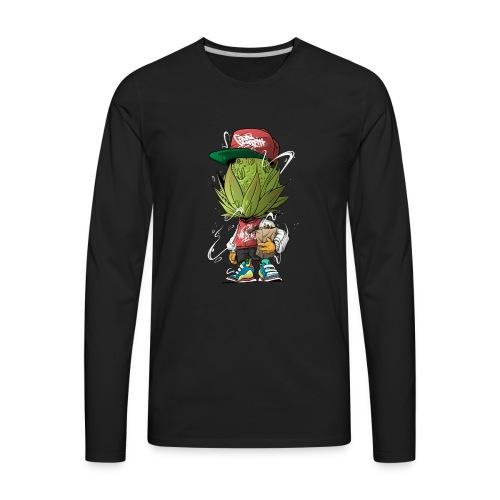 3 Budshead - Men's Premium Long Sleeve T-Shirt