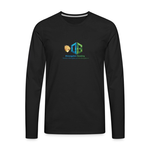 Deccypher Gaming - Men's Premium Long Sleeve T-Shirt