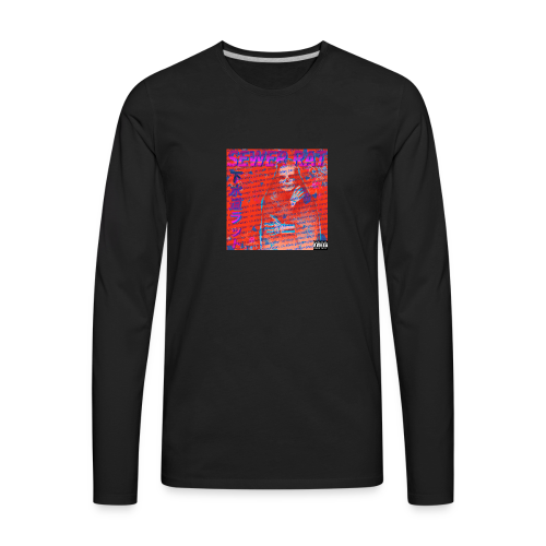 SEWER RAT COVER - Men's Premium Long Sleeve T-Shirt