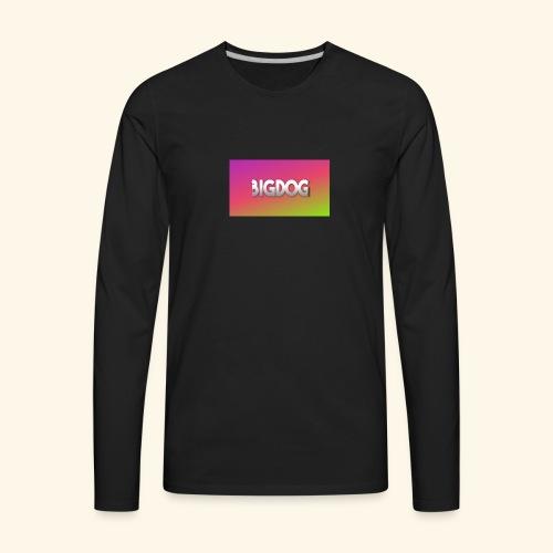 Bigdog - Men's Premium Long Sleeve T-Shirt