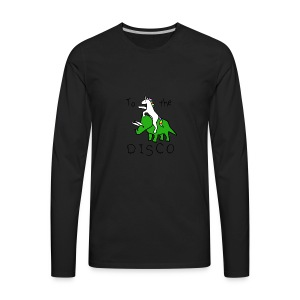 Pony Rhino disco - Men's Premium Long Sleeve T-Shirt