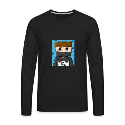 MY YT CHANNEL LOGO SHIRT - Men's Premium Long Sleeve T-Shirt
