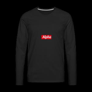Alpha Squad - Men's Premium Long Sleeve T-Shirt