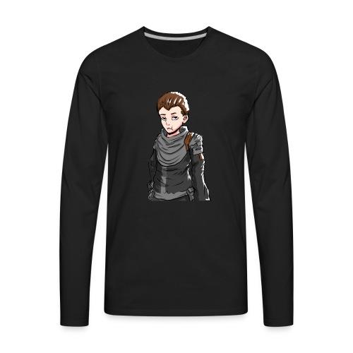 Terallian Official Large - Men's Premium Long Sleeve T-Shirt