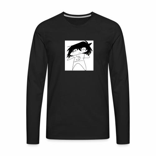 Hachi lives 4 ever - Men's Premium Long Sleeve T-Shirt
