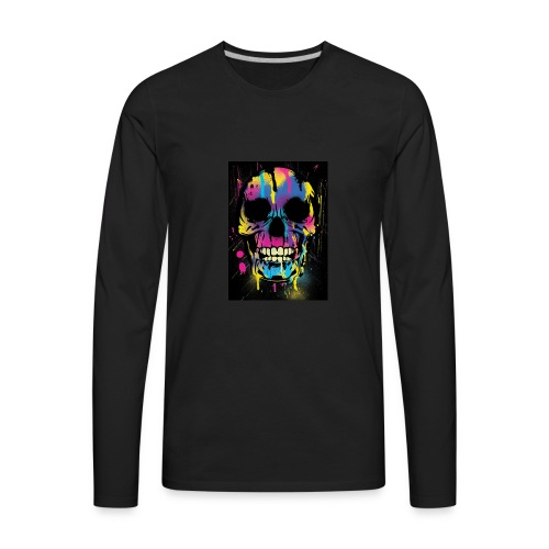 Dark happiness - Men's Premium Long Sleeve T-Shirt