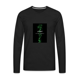 N.U.G.S. Up N Smoke - Men's Premium Long Sleeve T-Shirt