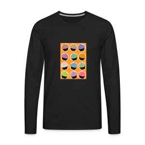 Cupcake TIme - Men's Premium Long Sleeve T-Shirt