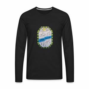 2ième poste Squamish de Hull - T-shirt Premium à manches longues pour hommes