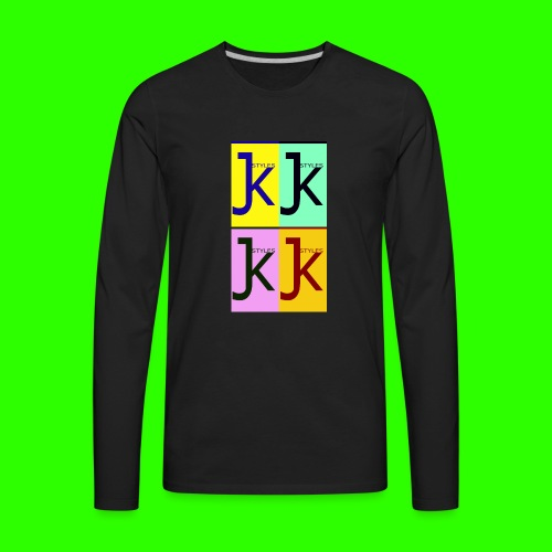 JK STYLES - Men's Premium Long Sleeve T-Shirt