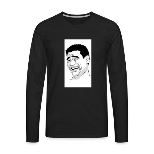 Muh Face - Men's Premium Long Sleeve T-Shirt