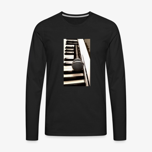 Mic and keys - Men's Premium Long Sleeve T-Shirt