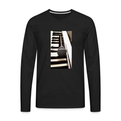 Mic and keys - Men's Premium Long Sleeve T-Shirt