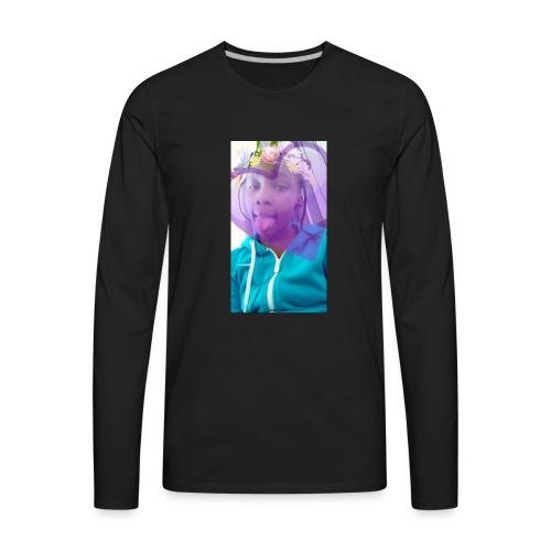 Moni snap - Men's Premium Long Sleeve T-Shirt