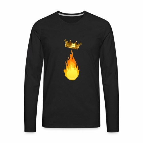 Fire King Playz Merch - Men's Premium Long Sleeve T-Shirt