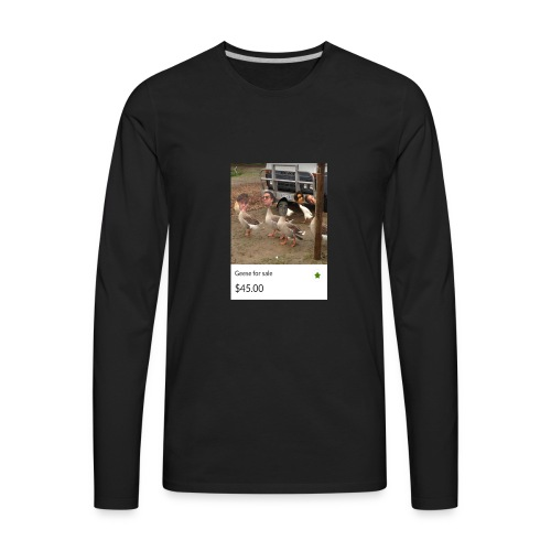 the___gaggle - Men's Premium Long Sleeve T-Shirt
