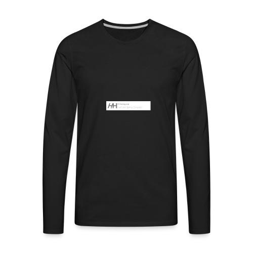 HHRacingLogo4 5 - Men's Premium Long Sleeve T-Shirt