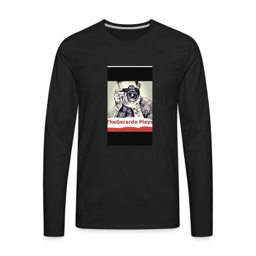 TheGerardoPlays - Men's Premium Long Sleeve T-Shirt