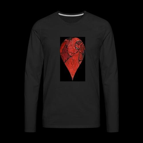 Heart Drop - Men's Premium Long Sleeve T-Shirt