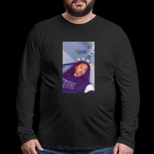 Paola's merch ! 😰💯 - Men's Premium Long Sleeve T-Shirt