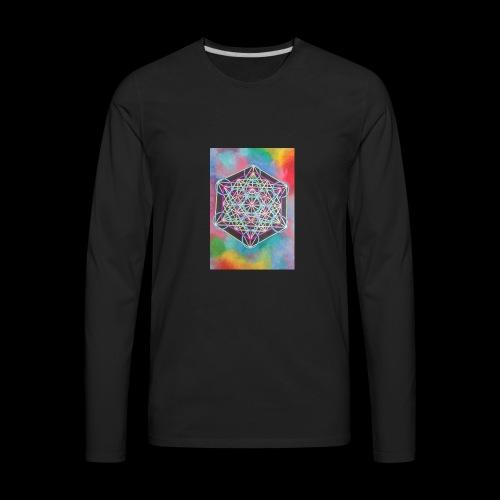 The Cube - Men's Premium Long Sleeve T-Shirt
