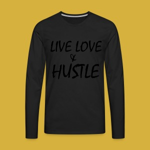 LLH black 01 - Men's Premium Long Sleeve T-Shirt