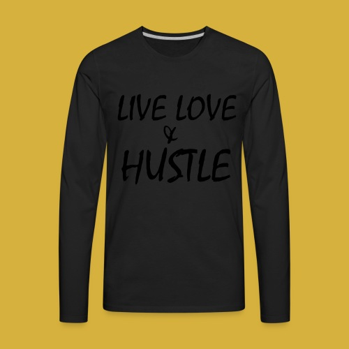 LLH black 01 - Men's Premium Long Sleeve T-Shirt