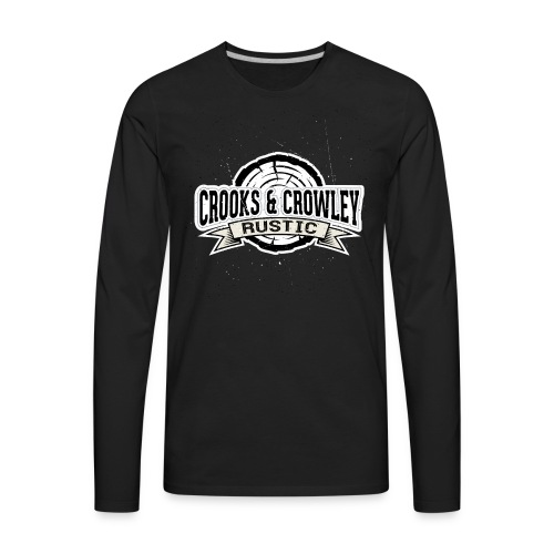 Crooks and Crowley Rustic - Men's Premium Long Sleeve T-Shirt