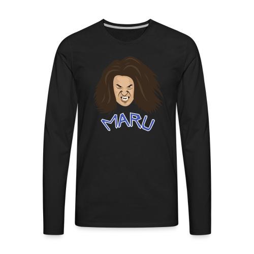 Maru the Wrestler - Men's Premium Long Sleeve T-Shirt