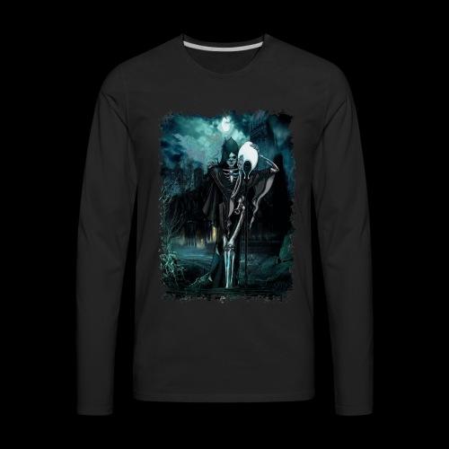 Halloween No-Life King - Men's Premium Long Sleeve T-Shirt