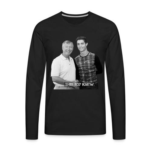 CR7 - This Boy Knew. - Men's Premium Long Sleeve T-Shirt