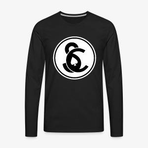 SC Spade Logo - Men's Premium Long Sleeve T-Shirt
