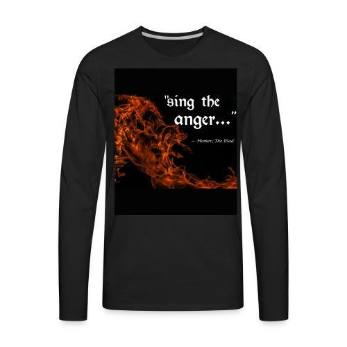 sing the anger - Men's Premium Long Sleeve T-Shirt