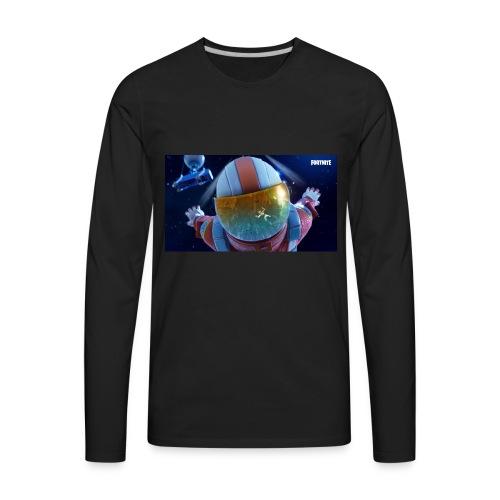Fortnite Sky Diving - Men's Premium Long Sleeve T-Shirt
