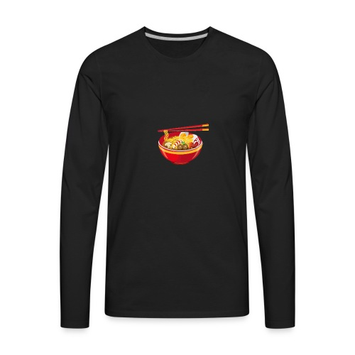 Asian Anthem 🥢|Slurp The Soup Collection| - Men's Premium Long Sleeve T-Shirt
