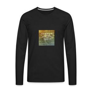 psalms 76:76 - Men's Premium Long Sleeve T-Shirt