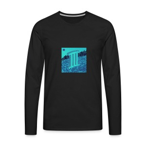 Currensy PilotTalk3 Artwork - Men's Premium Long Sleeve T-Shirt