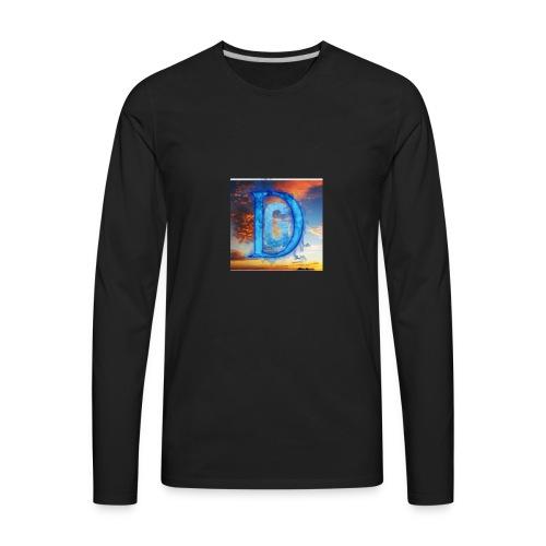 Sunset line - Men's Premium Long Sleeve T-Shirt