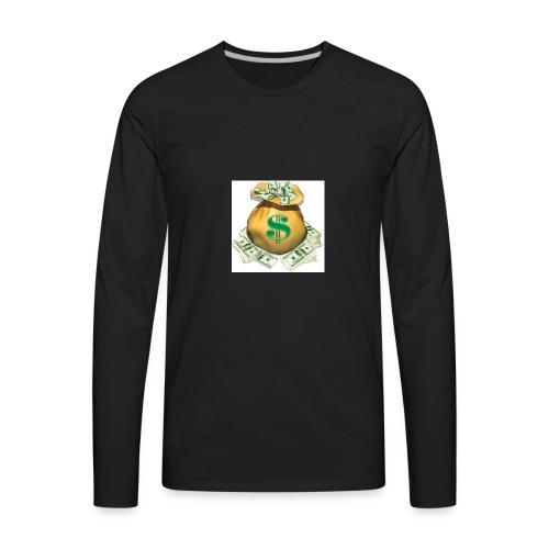 SECURE THE BAG !!💯💪🏽 - Men's Premium Long Sleeve T-Shirt