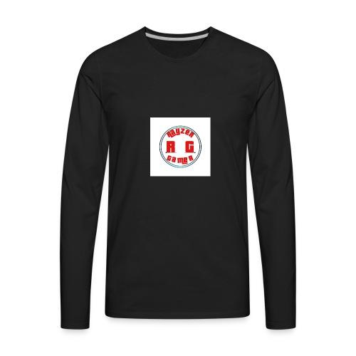 RayZerGamer mouse pad - Men's Premium Long Sleeve T-Shirt