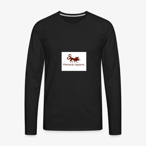 Primal Esports V1 - Men's Premium Long Sleeve T-Shirt